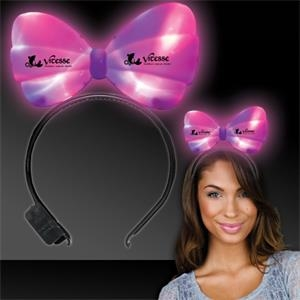 LED Light Up Glow Bow Headband