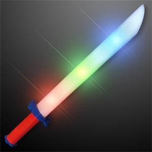 Light Up Foam Sword