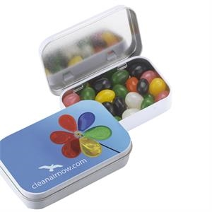 Assorted Jelly Beans In Rectangular Tin