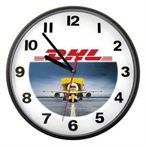 """Clock - 10\"""" Wall Clock Full Color"""