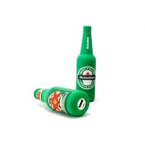 Custom PVC Power Bank - Beer Bottle Shaped