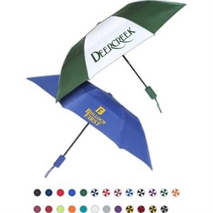 Raindrop Weatherdfyer (TM) Budget Folding Umbrella