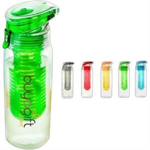Tritan (TM) Water Bottle with Built in Fruit Infuser