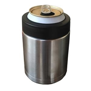 Double wall stainless steel can cooler