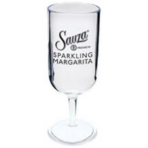 2 oz. Plastic Champange Sampler Glass