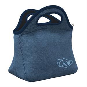 Denim Klutch Lunch Bag