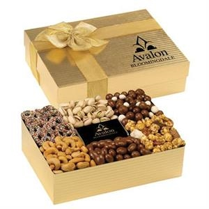Savory Delight Box with Pretzels, Cashews, Chocolate & More