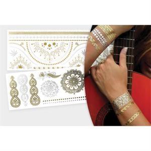 Jewelry Metallic Tattoos