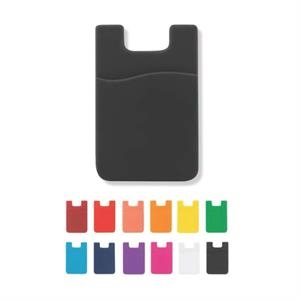 Silicone Smartphone credit card/money holder I-Wallet RFID