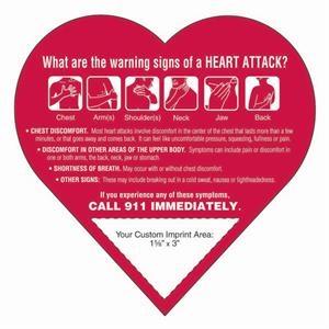 Heart Attack Heart Shape Magnet