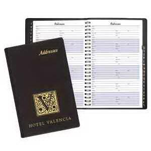 Large Address Book - Continental