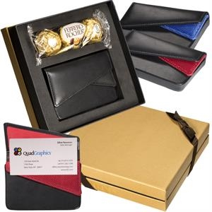 Ferrero Rocher (R) Chocolates & Card Case Gift Set