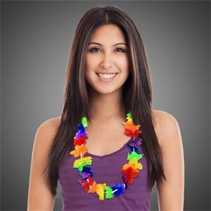 Rainbow Flower Lei
