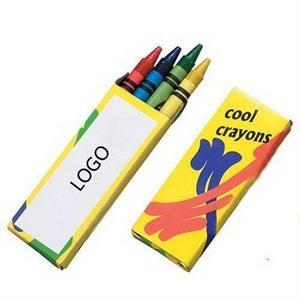 Crayon Pack (4 Count), Promotional Crayons,Crayon Giveaways