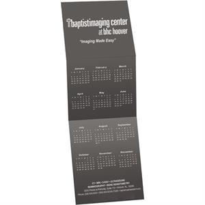 Z-Fold Wall Calendar Greeting Card