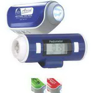 Flashlight & Siren Pedometer