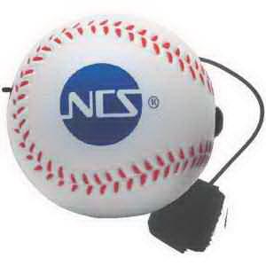 Baseball Yo-Yo Bungee Stress Reliever