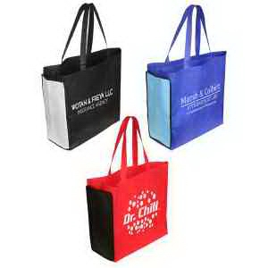 Shop N' Zip foldable tote bag
