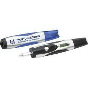 Level Light Screwdriver Pen
