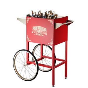Popcorn cart cooler