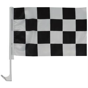 "11"" x 17"" Checkered Auto Window Flag"