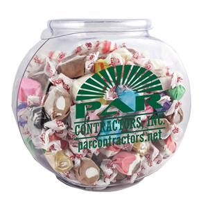 Fish Bowl with Salt Water Taffy