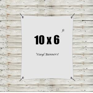 Custom 10' x 6' Vinyl Banners