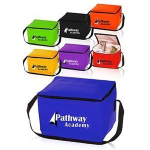 "Non-Woven Lunch Bag - Cooler Bag - 9"" W x 6"" H"