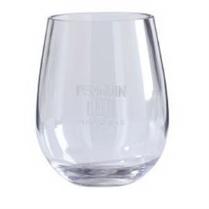 Tritan Stemless Wine Glass 2 Piece Set