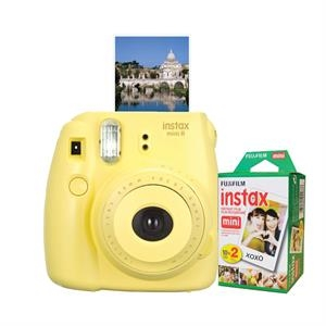 FUJIFILM North America Instax Mini 8 Yellow Bundle