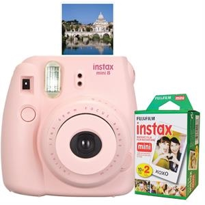 FUJIFILM North America Instax Mini 8 Pink Bundle