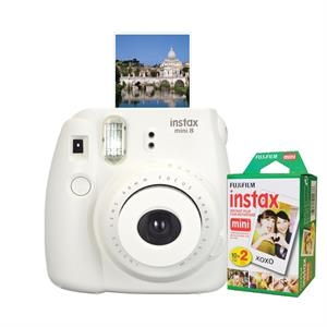 FUJIFILM North America Instax Mini 8 White Bundle