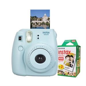 FUJIFILM North America Instax Mini 8 Blue Bundle