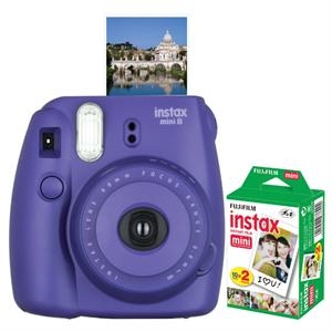 FUJIFILM North America Instax Mini 8 Grape Bundle