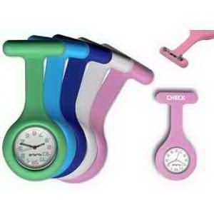 Silicone Nurse Lapel Watch