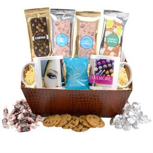 Tray w/Mugs and Hershey Kisses