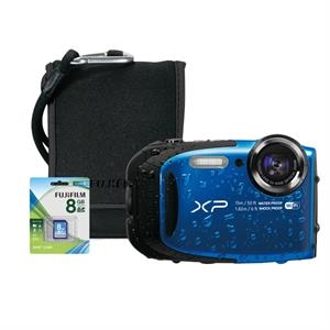 FUJIFILM North America FinePix XP90 Blue Bundle