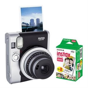 FUJIFILM Instax Mini 90 Neo Classic (Black) Bundle