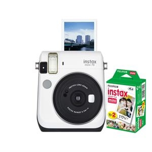 FUJIFILM North America Instax Mini 70 White Bundle