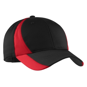 Sport-Tek Dry Zone Nylon Colorblock Cap.