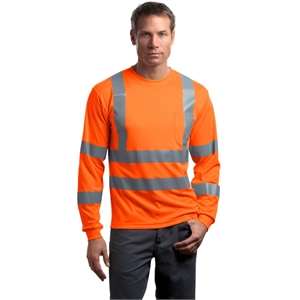 CornerStone - ANSI 107 Class 3 Long Sleeve Snag-Resistant...