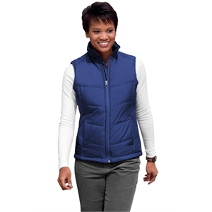 Port Authority Ladies Puffy Vest.