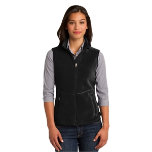 Port Authority Ladies R-Tek Pro Fleece Full-Zip Vest.