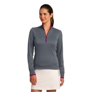 Nike Ladies Dri-FIT 1/2-Zip Cover-Up.