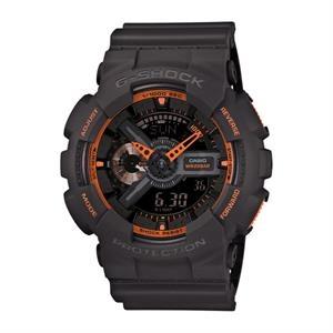 Casio G-Shock Analog Digital Gray and Orange Watch