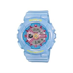 Casio Womens Baby-G Analog/Digital Watch Blue