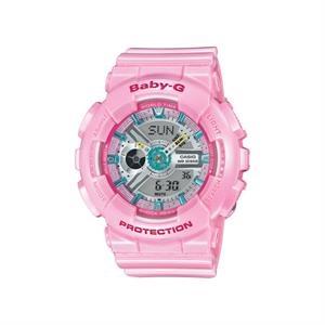 Casio Womens Baby-G Analog/Digital Watch Pink
