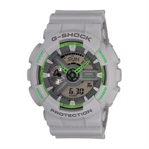 Casio G-Shock Analog Digital Gray and Green Watch