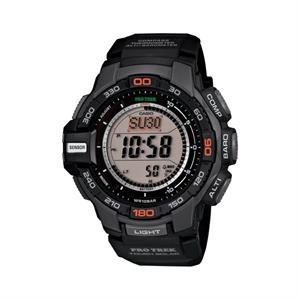Casio Pro Trek Triple Sensor Watch Dark Grey