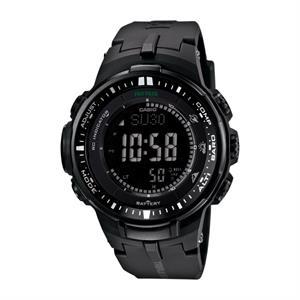 Casio Pro Trek Solar Atomic Triple Sensor Watch Black